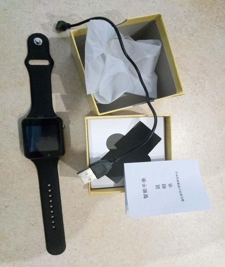комплектация smart watch a1