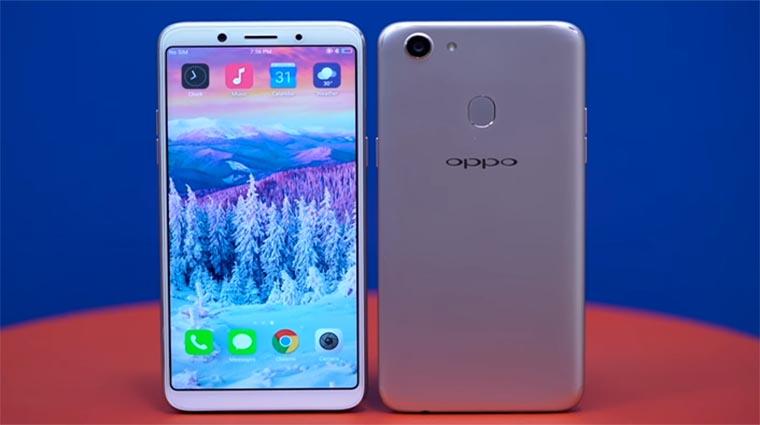 Смартфон Oppo F5 — характеристики, краткий обзор