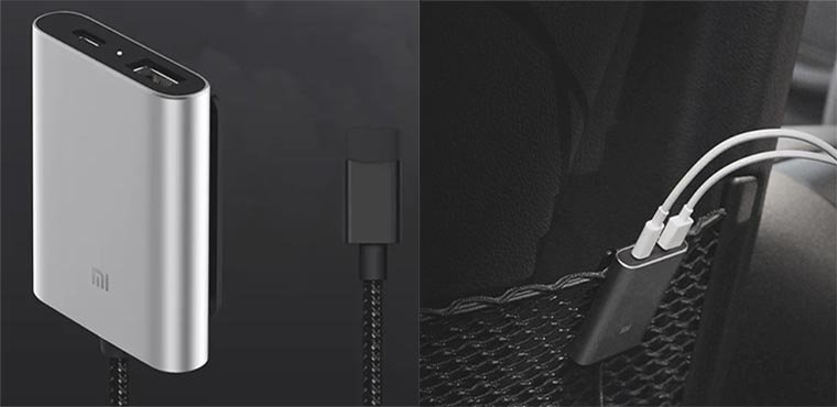 Xiaomi Clip-on Car Charger