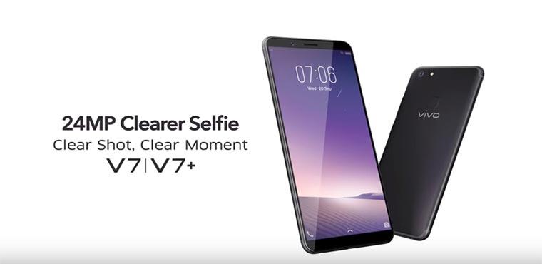 Vivo V7 Plus краткий обзор и характеристики