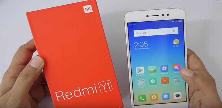 Xiaomi представила Redmi Y1 и Redmi Y1 Lite