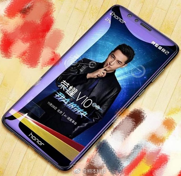 Стали известны характеристики Huawei Honor V10