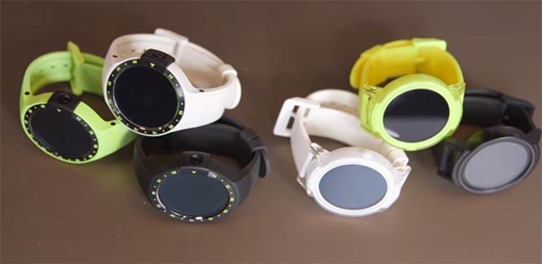 Во многом Ticwatch S похож на своего старшего брата - Ticwatch 2