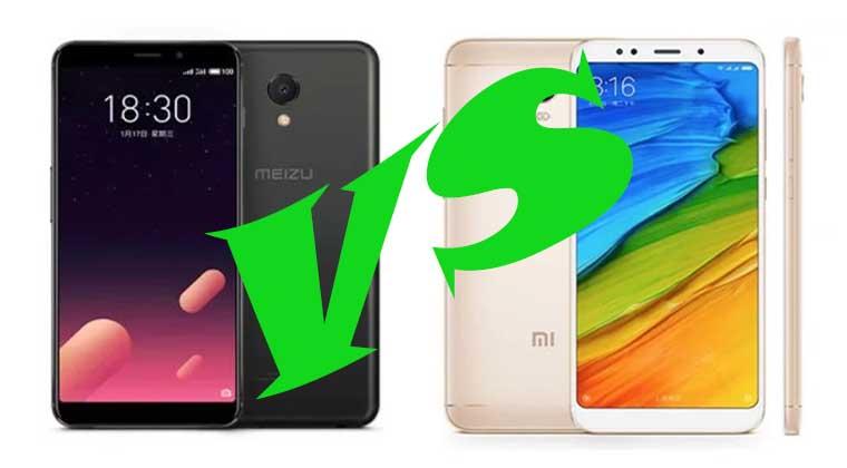 Xiaomi Redmi 5 или Meizu M6S: что лучше