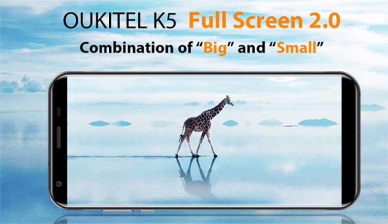 Дисплей OUKITEL K5