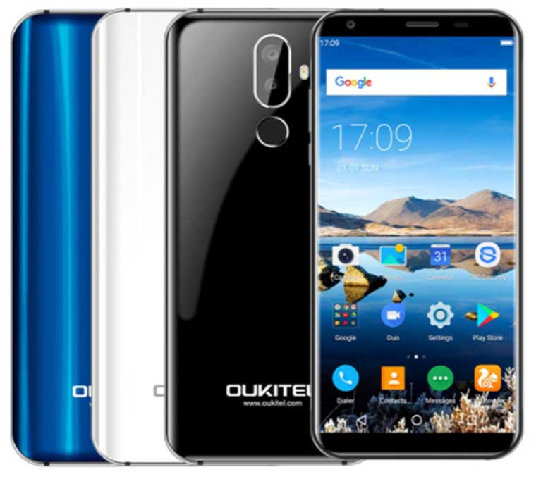Дизайн OUKITEL K5