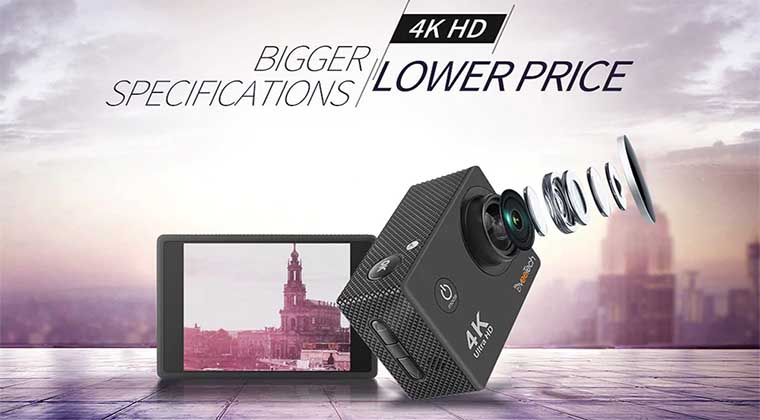DveeTech S2 4K Action Camera