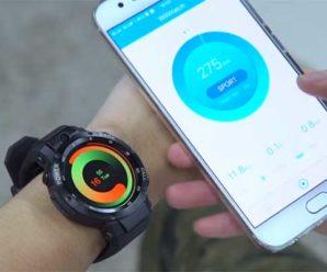 Спортивные смарт часы Zeblaze Thor S — обзор, цена, характеристики