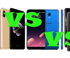 Сравнение смартфонов среднего класса Xiaomi Redmi Note 5 Pro, Nokia 6 (2018) и Meizu M6s