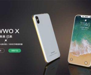 OWWO X — очередная китайская копия iPhone X