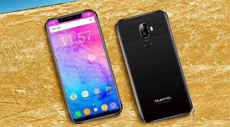 Смартфон Oukitel U18 - клон  iPhone X, цена и характеристики