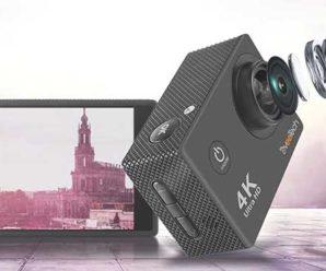 Лучшая бюджетная экшн камера с 4К до 50 долларов, ТОП 5