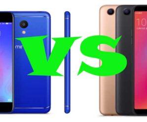 Сравнение смартфонов Meizu M6s и OPPO A83