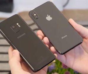 Сравнение Apple iPhone X и Samsung Galaxy S9