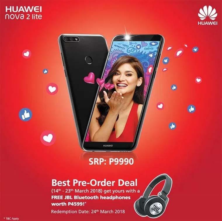 """Huawei Nova 2 Lite – """"облегченная"""" версия Huawei Nova 2i"""