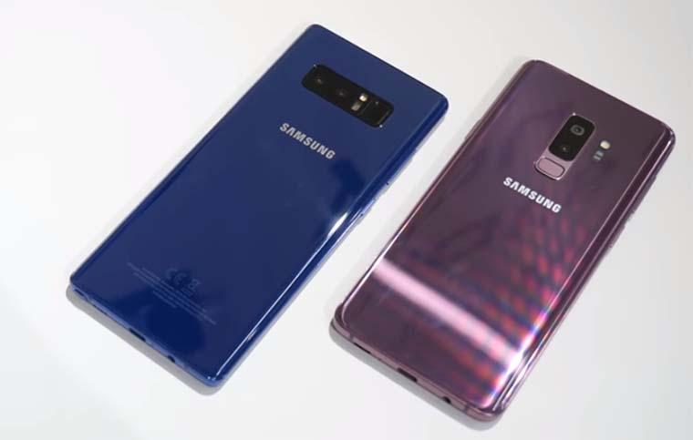 Samsung Galaxy S9 Plus и Galaxy Note 8: Аппаратное обеспечение