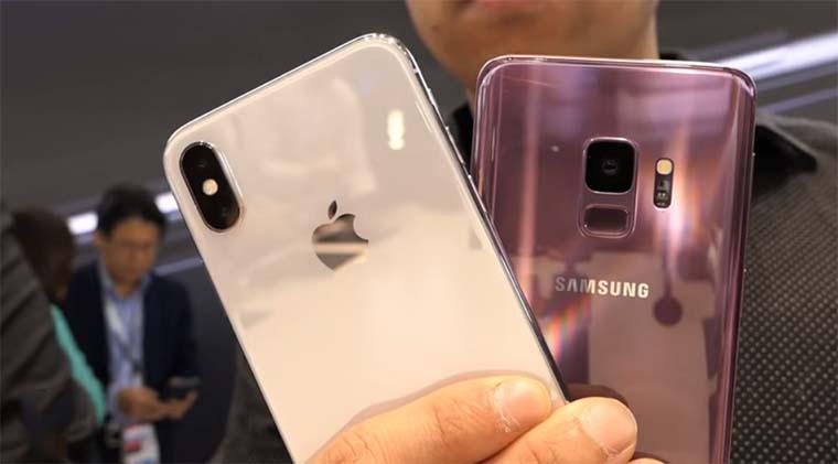 Apple iPhone X и Samsung Galaxy S9: Операционная система