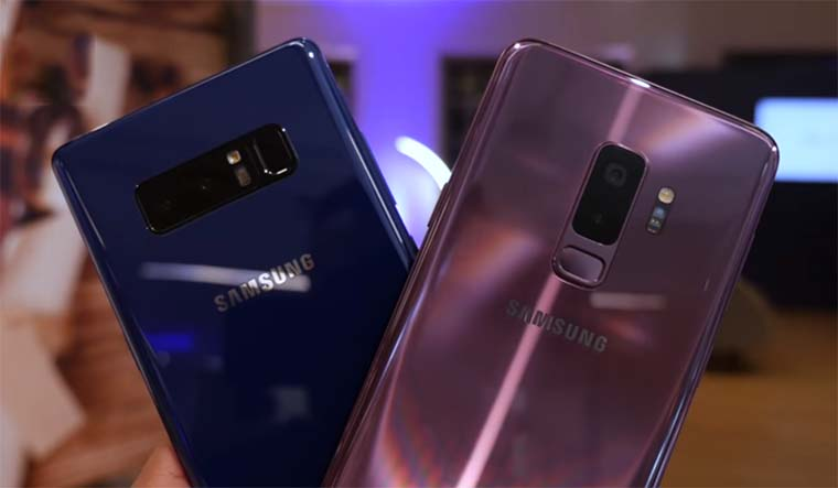 Samsung Galaxy S9 Plus и Galaxy Note 8: Камеры