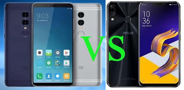 Сравнение характеристик Xiaomi Redmi Note 5 Pro и ASUS ZenFone 5 (2018)