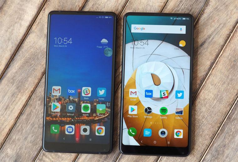 Xiaomi Mi Mix 2S и Mi Mix 2