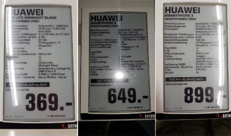 Huawei P20 и P20 Pro