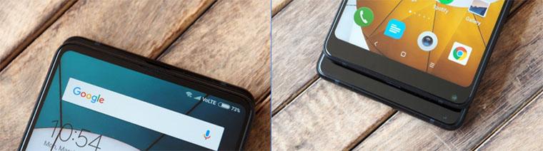 Xiaomi Mi Mix 2S и Mi Mix 2: основные отличия