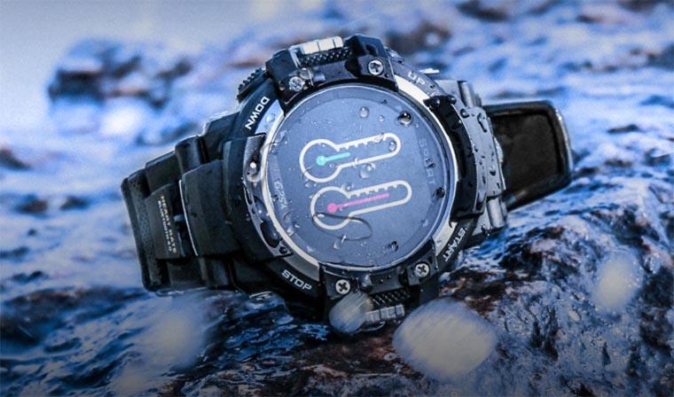 NO.1 F7 GPS Smartwatch уже можно купить на Banggood