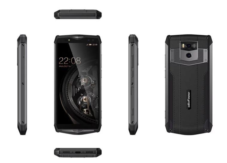 UIefone Power 5 – смартфон с самым большим аккумулятором в мире среди смартфонов