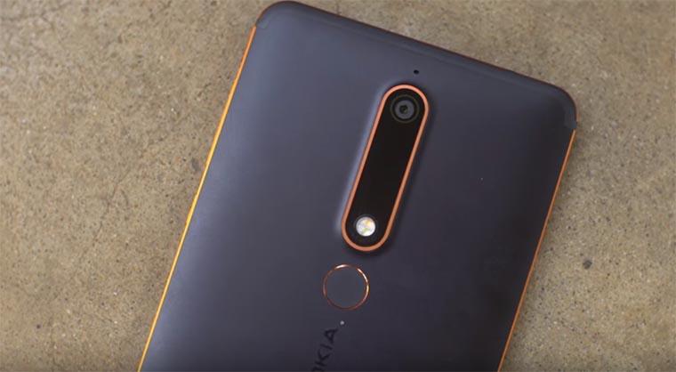 Дизайн Nokia 6 (2018)
