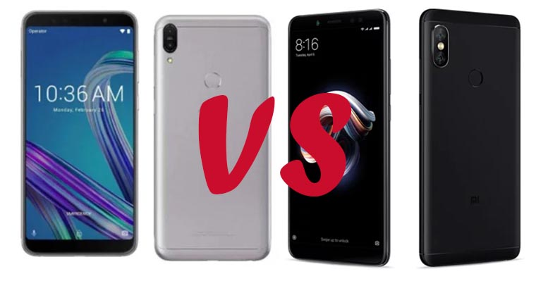 Asus Zenfone Max Pro M1 и Xiaomi Redmi Note 5 Pro