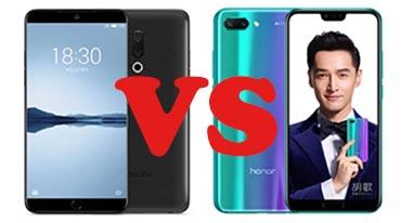 Сравнение смартфонов Meizu 15 и Honor 10