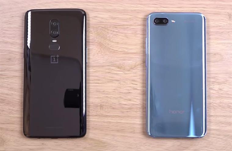 Honor 10 и OnePlus 6: сравнение характеристик