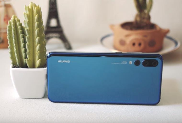 Huawei P20 Pro: дизайн