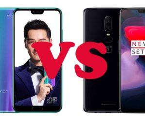 Honor 10 и OnePlus 6: чем отличаются и какой из них выбрать