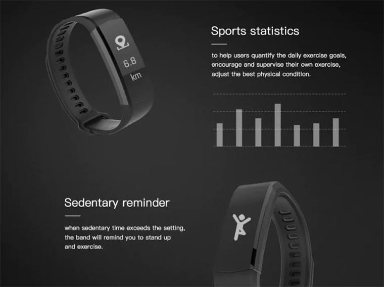 Купить фитнес-браслет Lenovo HX06 всего за 12,99$