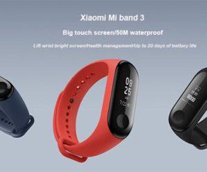 Xiaomi Mi Band 3 уже в продаже: цена и где купить