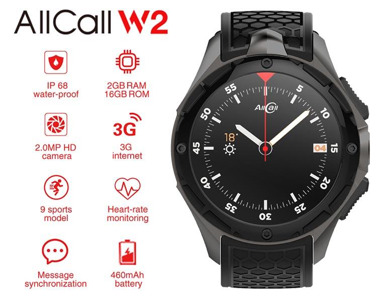 Характеристики AllCall W2