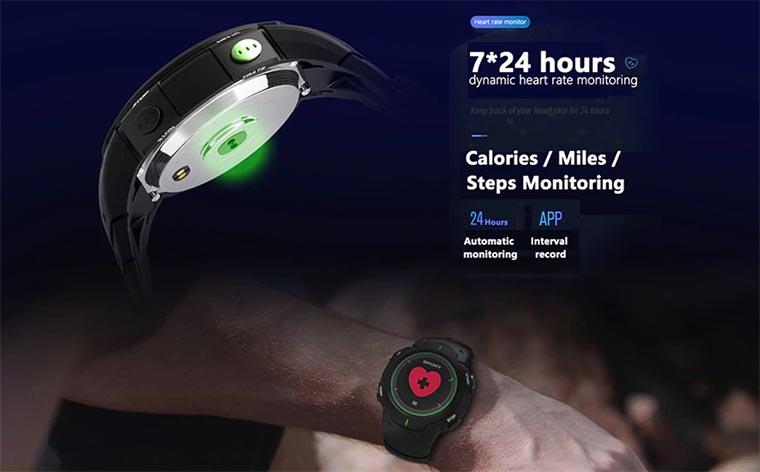 No.1 F13: водонепроницаемые спортивные смарт-часы с изогнутым защитным стеклом