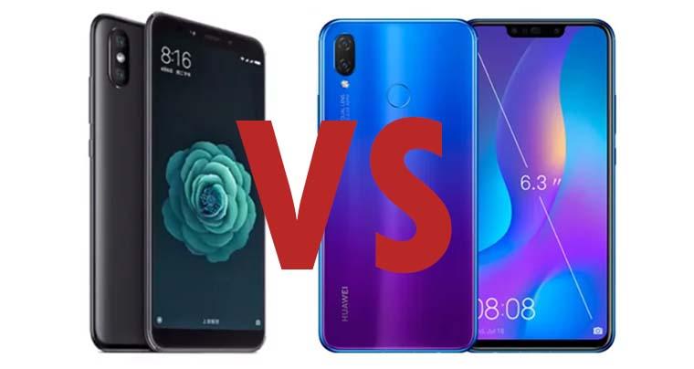 Huawei Nova 3i и Xiaomi Mi A2