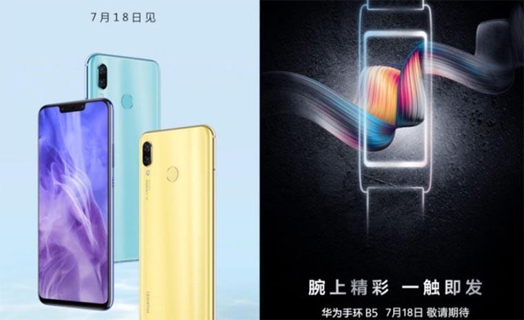 Huawei Nova 3, Nova 3i и TalkBand 5 представлены официально: цена, характеристики