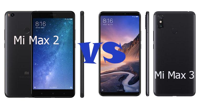 Xiaomi Mi Max 3 и Mi Max 2