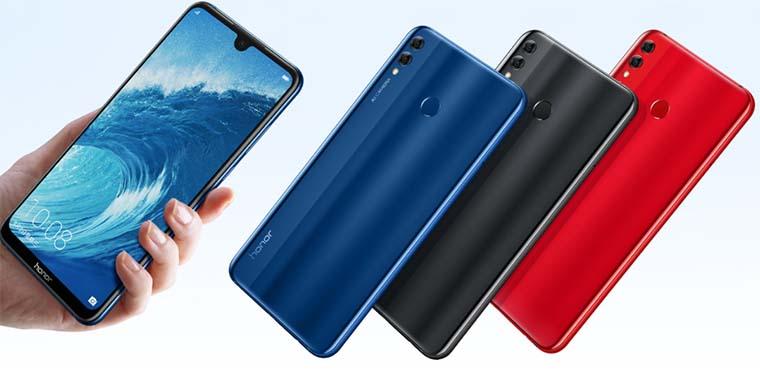 Первые изображения смартфона Honor 8X Max появились на сайте VMall