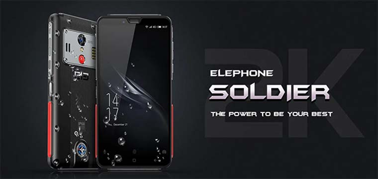 Elephone Soldier