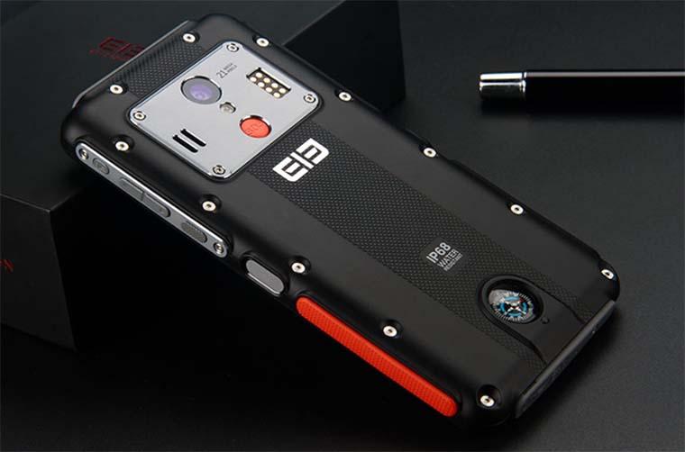 Elephone Soldier: 2К экран, IP68 и NFC в защищенном корпусе
