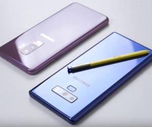 Сравнение смартфонов Samsung Galaxy Note 9 и Samsung Galaxy S9 Plus