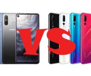 Samsung Galaxy A8s и Huawei Nova 4: сравнение характеристик и какой лучше