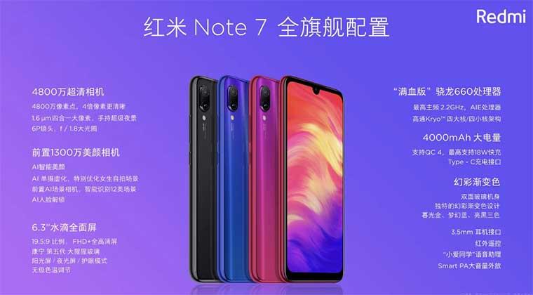 Цена и доступность Redmi Note 7