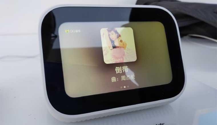 Xiaomi анонсировала умную колонку XiaoAI Touchscreen Speaker